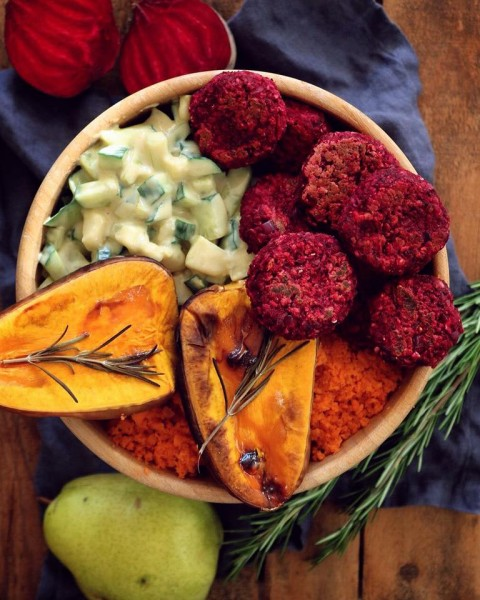 Rote-Beete-Bowl